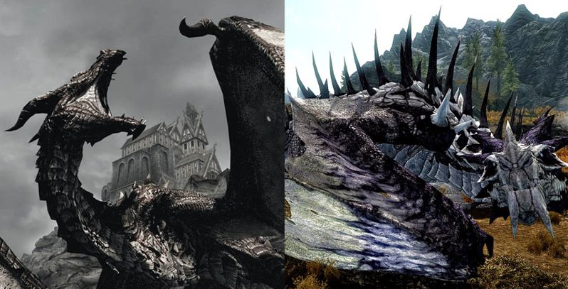 10 Facts You Didn't Know About Dragons In Skyrim | Game Rant