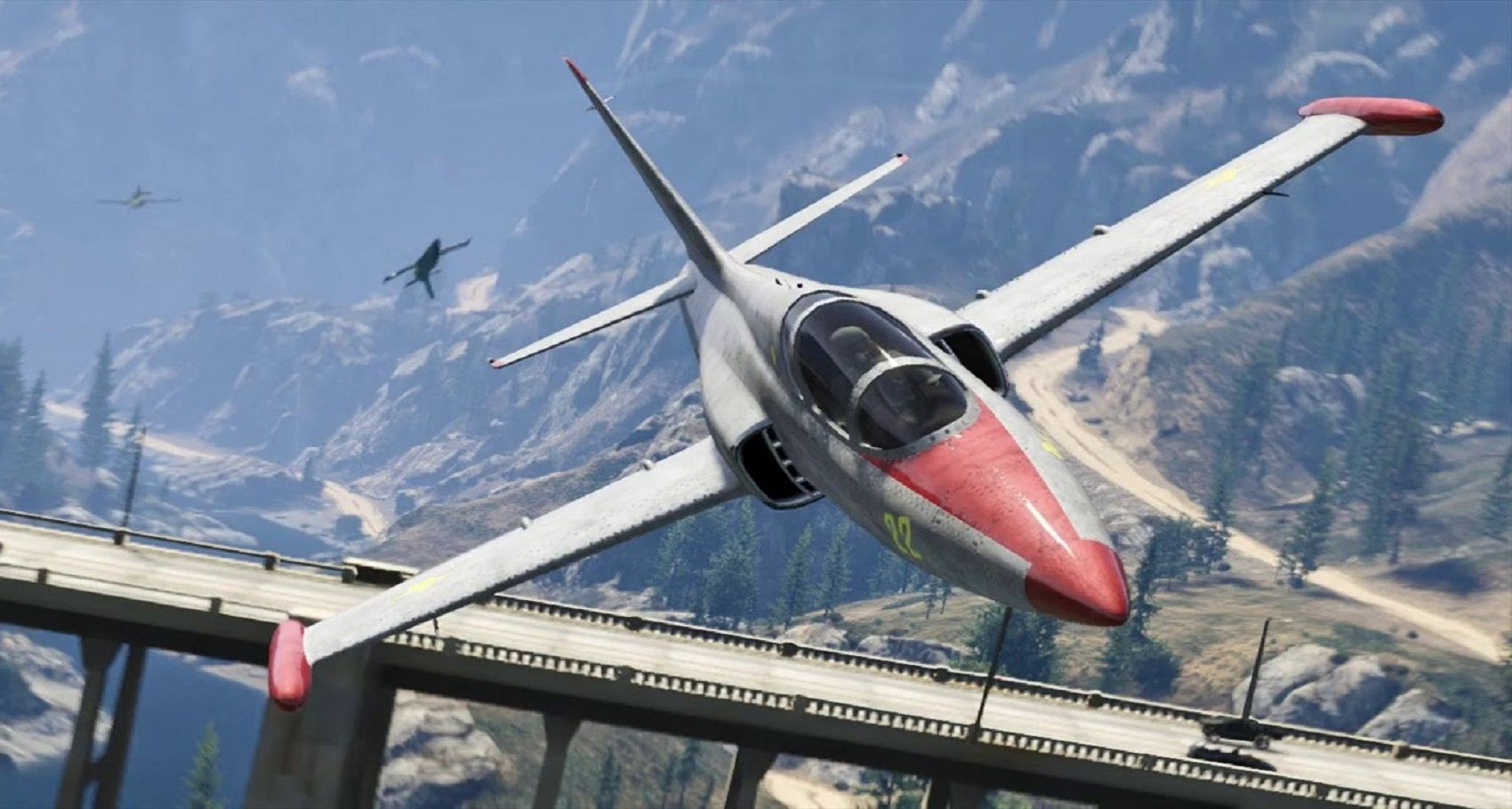 Ranked: The 10 Fastest Planes In Grand Theft Auto V
