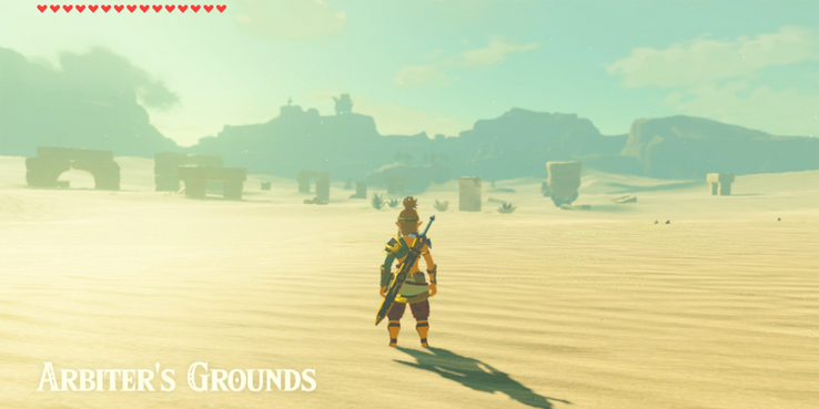 10 Easter Eggs Only Hardcore Fans Found In Breath Of The Wild
