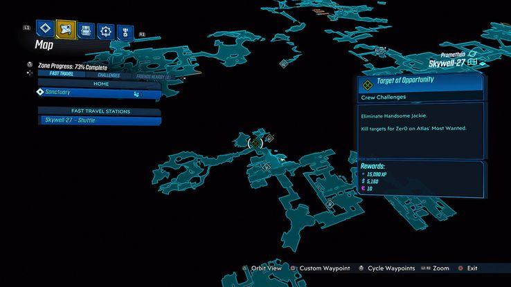 Borderlands 3 Zero S Targets Of Opportunity Locations