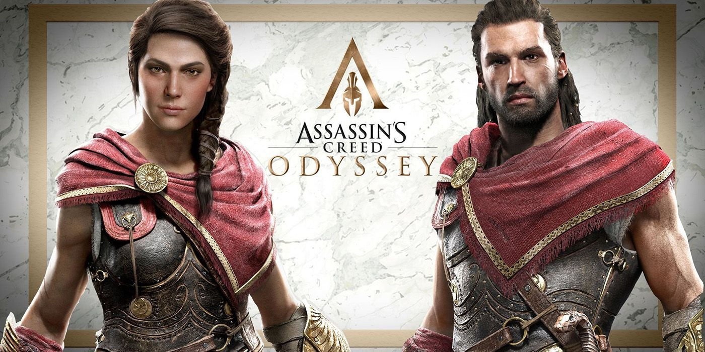 5 Weird Facts About Assassin S Creed Odyssey S Alexios And Kassandra
