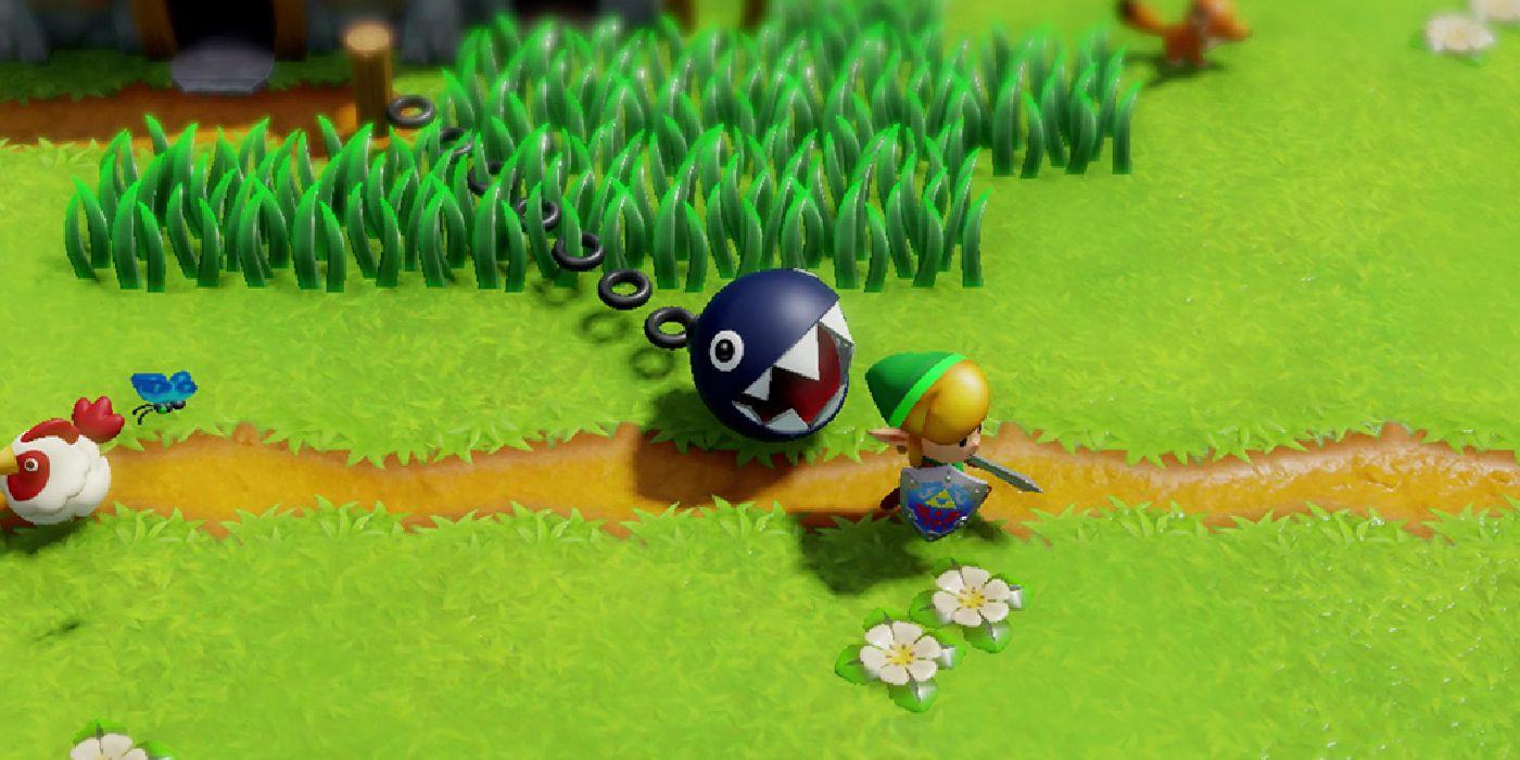 The Legend Of Zelda Link S Awakening Bird Key And Frog S