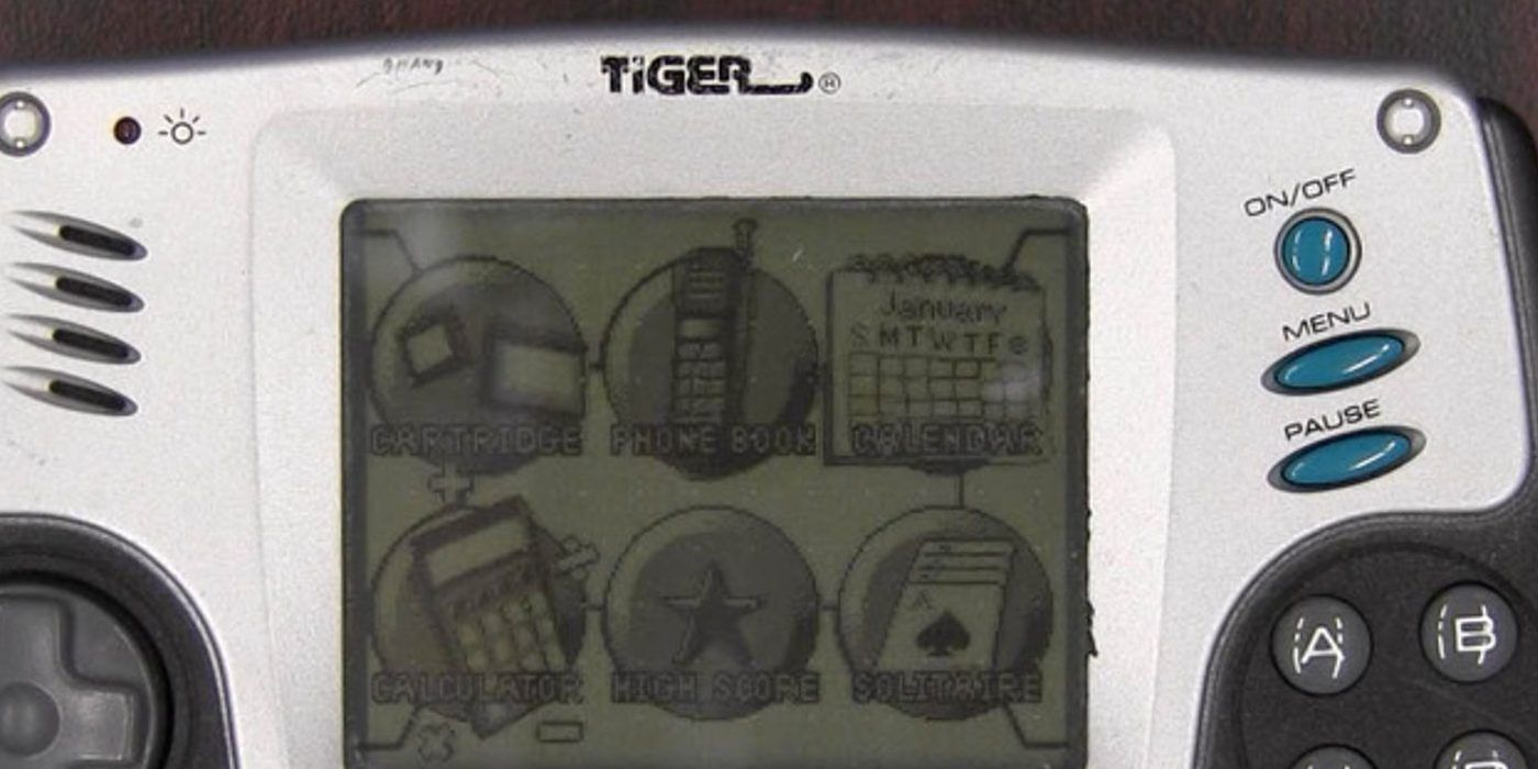 Tiger Electronics Handheld LCD Games Are Making a Comeback