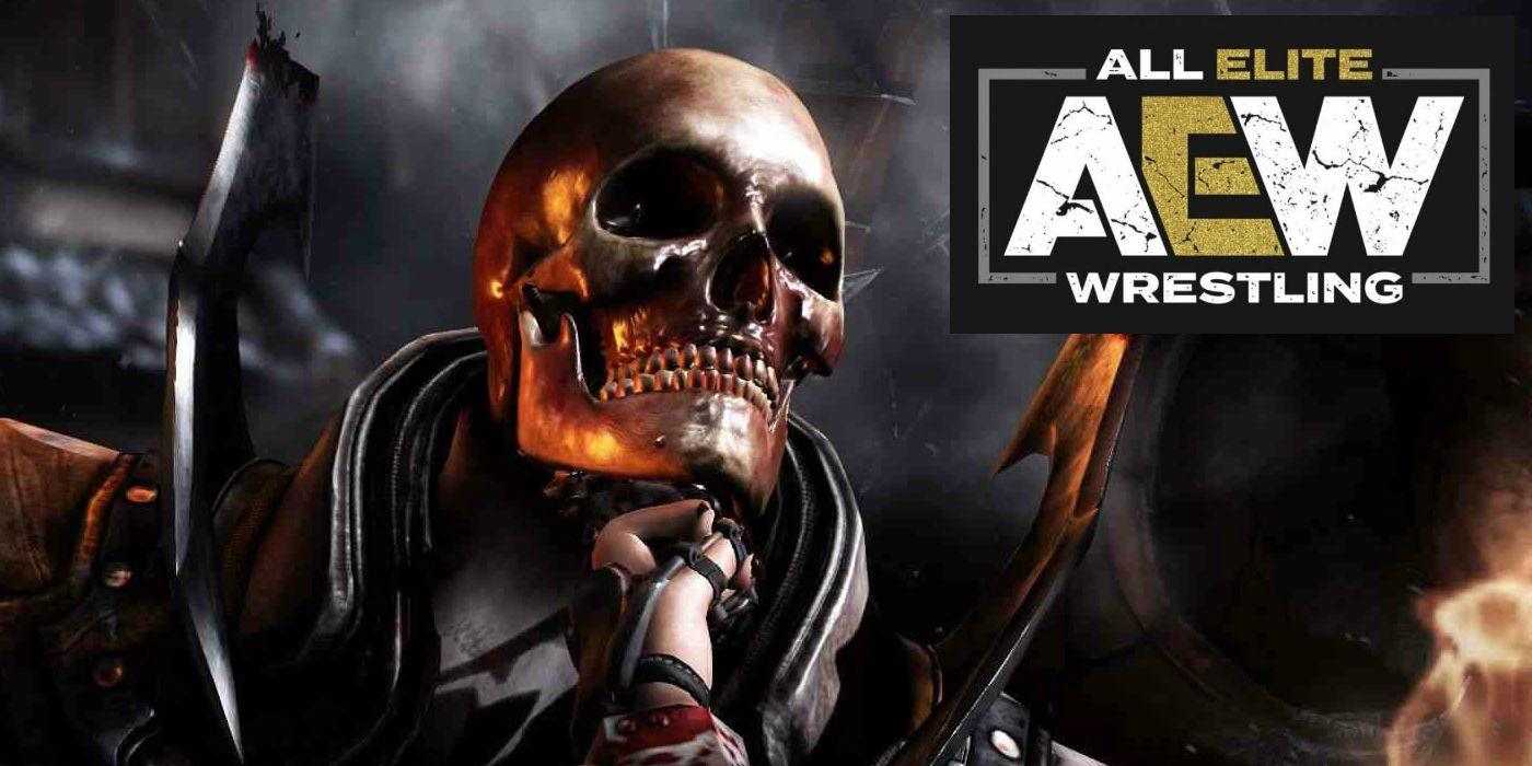 Mortal Kombat Fan Adds Fatal Blow Animation to AEW Match