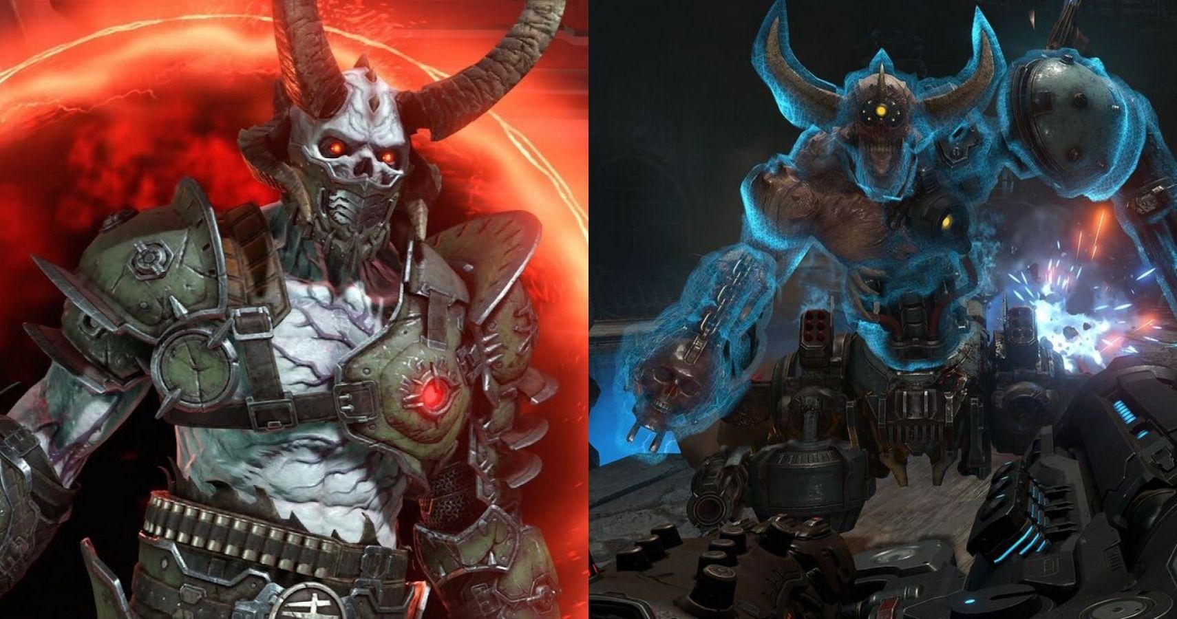 10 Hardest Enemies In Doom Eternal