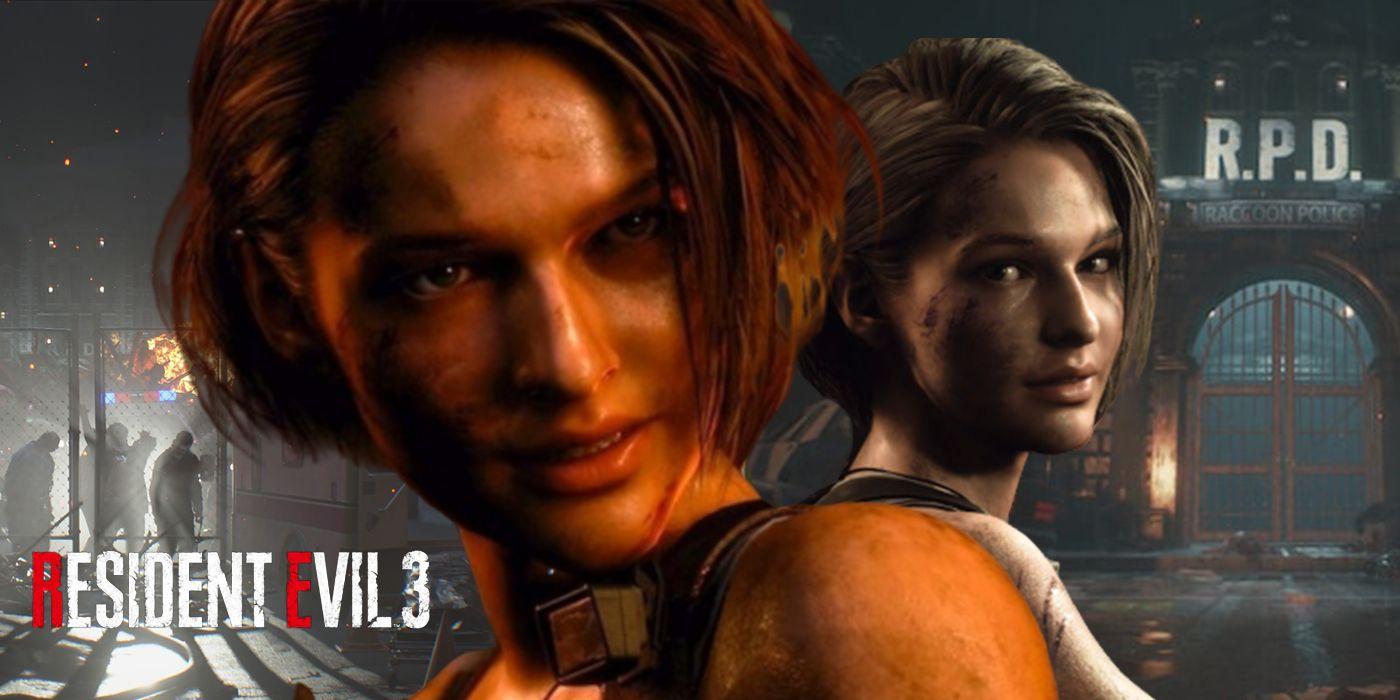 jill valentine resident evil 3 remake art