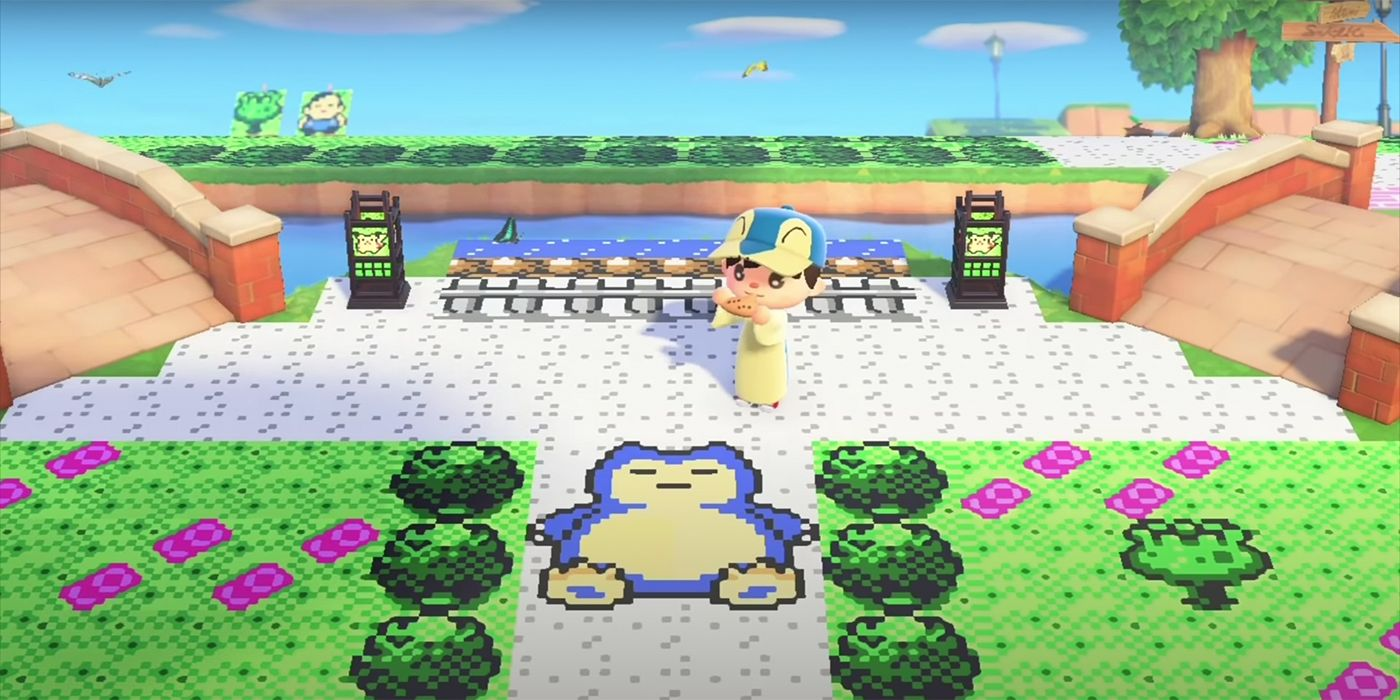 Animal Crossing: New Horizons Player Recreates Pokemon
