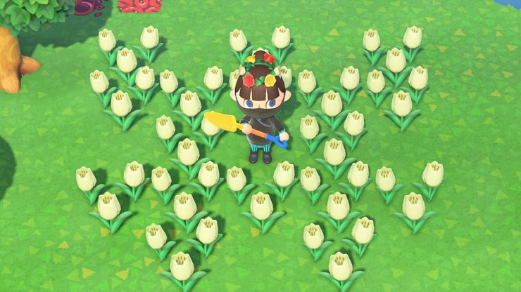 Best Layouts For Growing Hybrid Flowers In Animal Crossing New