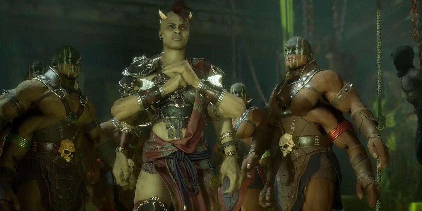 Mortal Kombat 11 Aftermath Releases Sheeva Trailer Game Rant