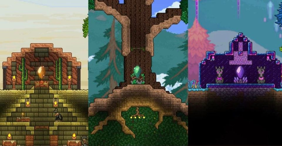 How To Get Pylons And How They Work In Terraria 1 4 Game Rant Then you put the 2 where you want to travel to and from. in terraria 1 4