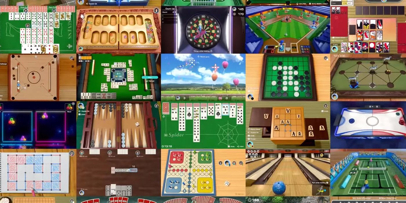Nintendo Confirms Most Popular Games In Clubhouse Games 51 Worldwide Classics