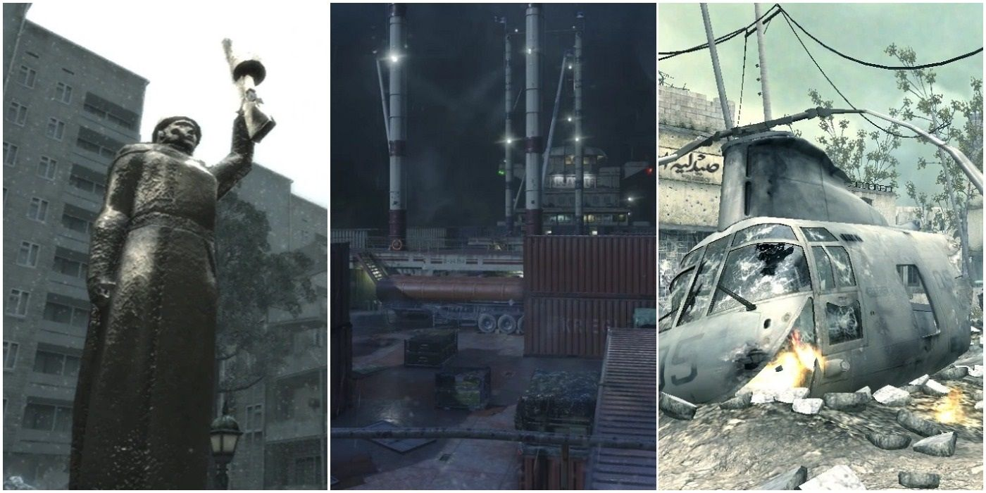 The 10 Best Cod Modern Warfare Remastered Multiplayer Maps Ranked
