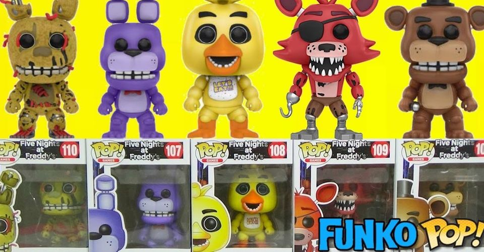 Five Nights At Freddy S Security Breach Characters Leaked By Funko And Fans Aren T Happy
