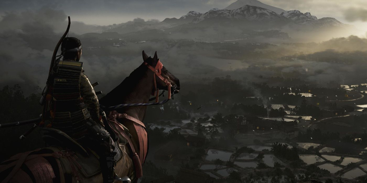 Ghost Of Tsushima Which Horse And Name To Choose Game Rant