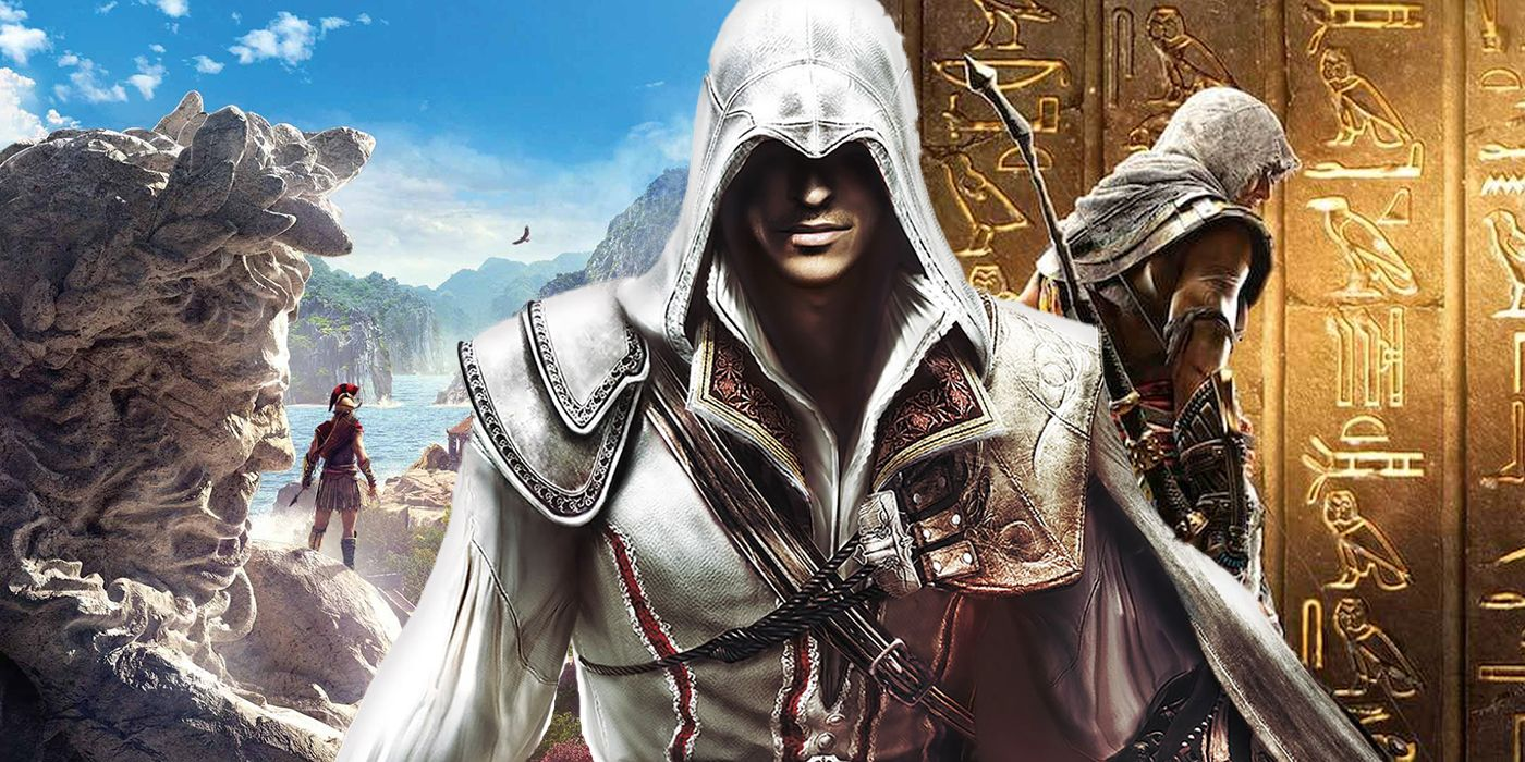 Assassin S Creed 2 Teased Origins Odyssey And More But No One
