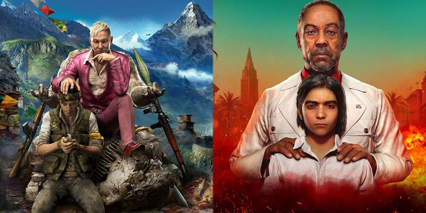 Comparing Far Cry 6 S Anton Castillo To Far Cry 4 S Pagan Min
