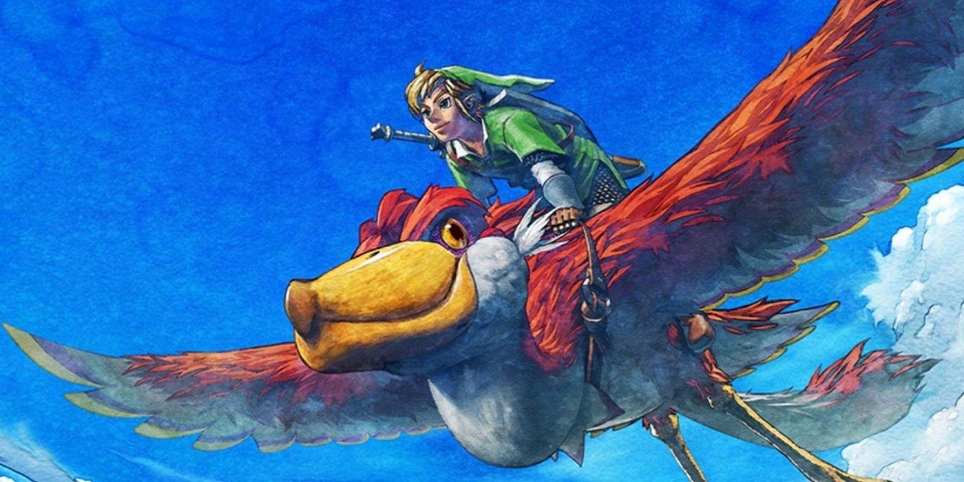 The Legend of Zelda:Skyward Sword HD ,controles de botão irão beneficiar os loftwings 2