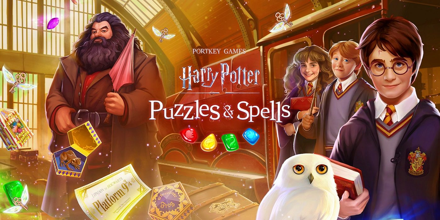 Harry Potter: Puzzles and Spells from Zynga Available Now