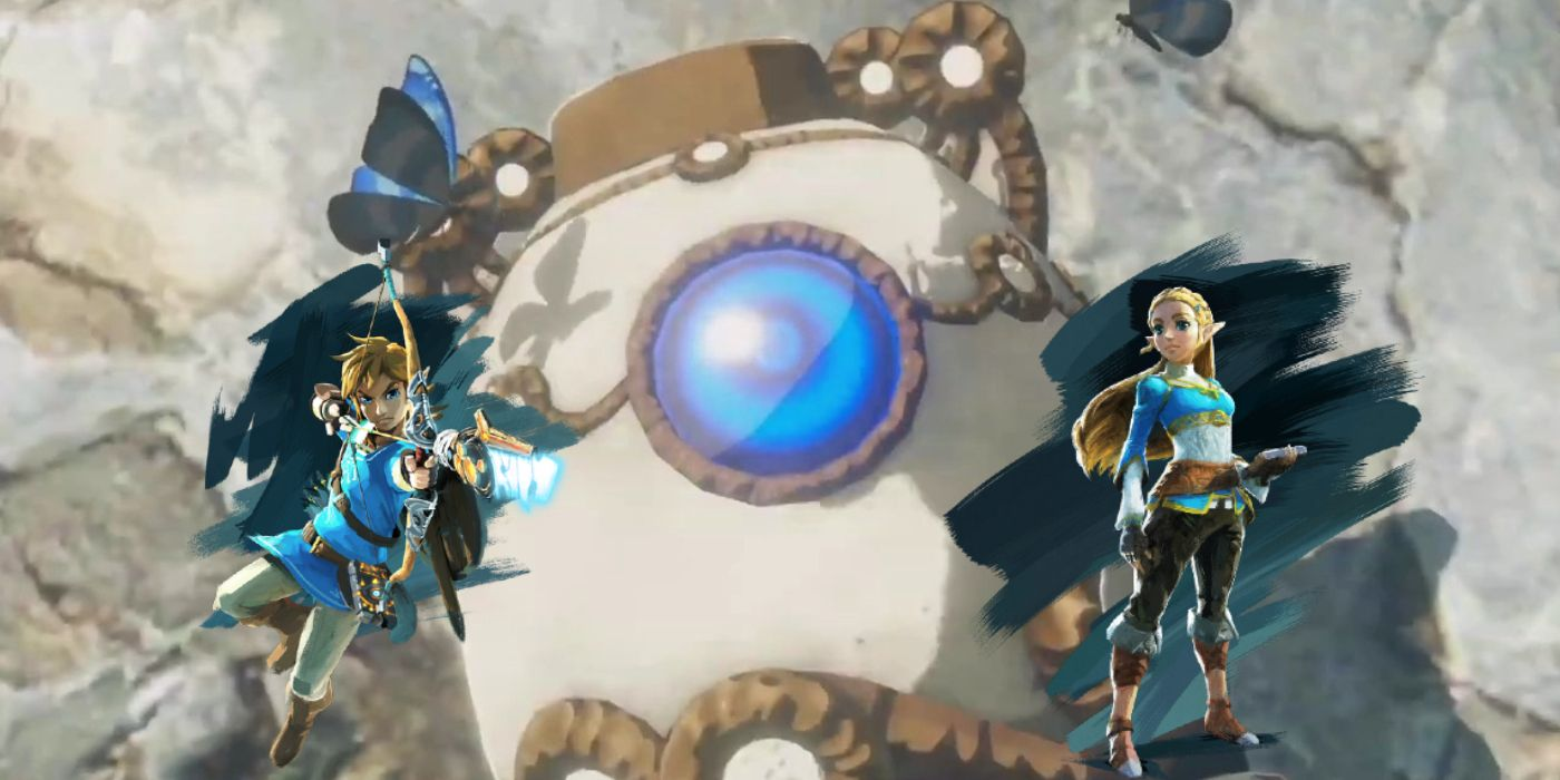 Hyrule Warriors Age Of Calamity S Mini Guardian Could Change Everything
