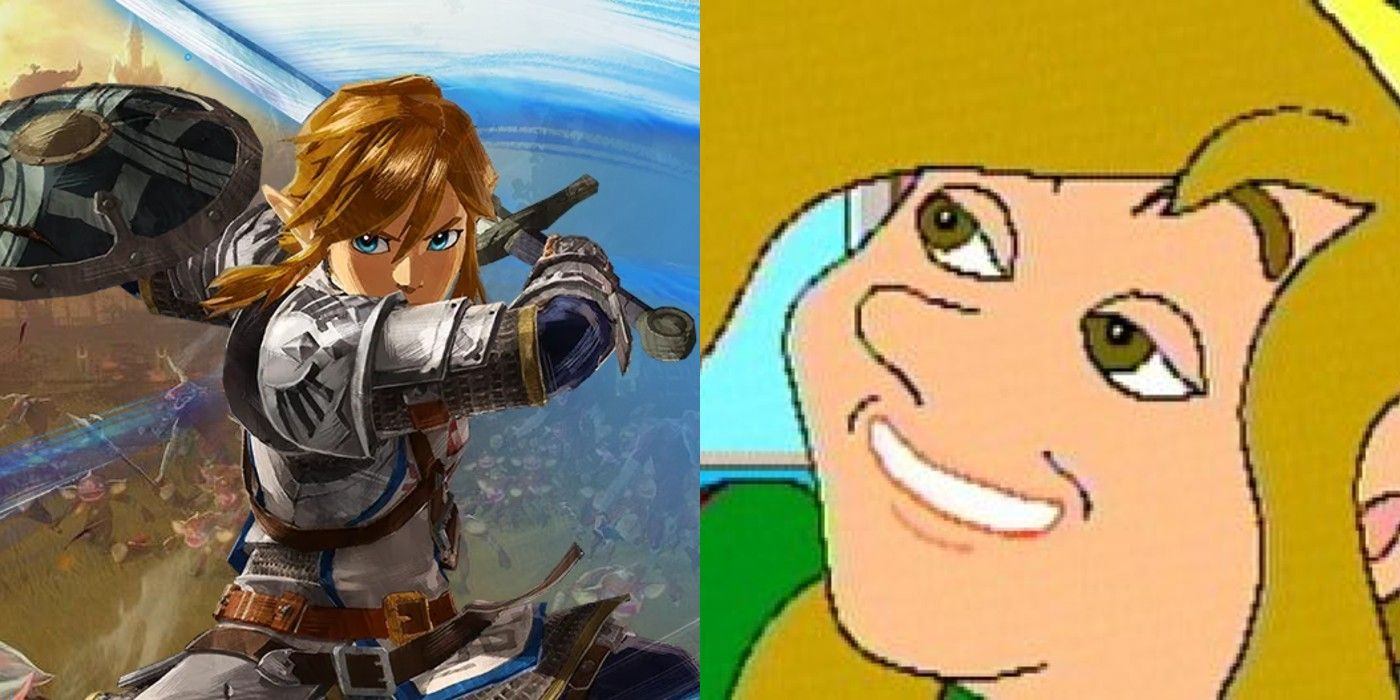 Hyrule Warriors Age Of Calamity Appears To Reference Zelda Cd I Games