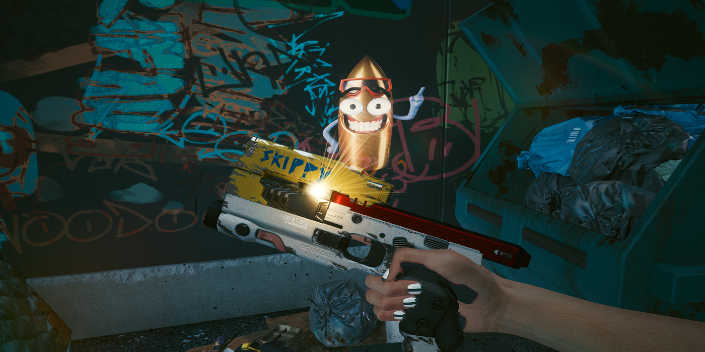 Cyberpunk 2077: Where to Find Skippy Pistol | Game Rant