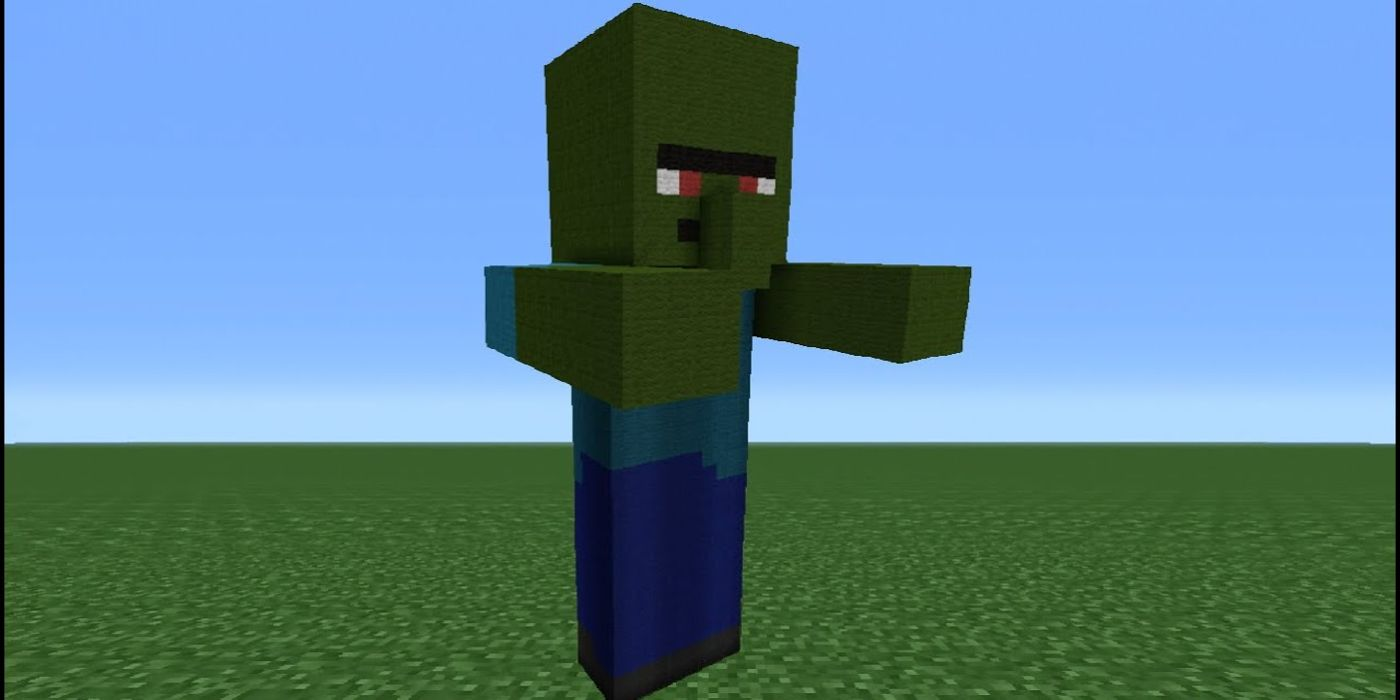 Minecraft: How to Cure Zombie Villager  Game Rant