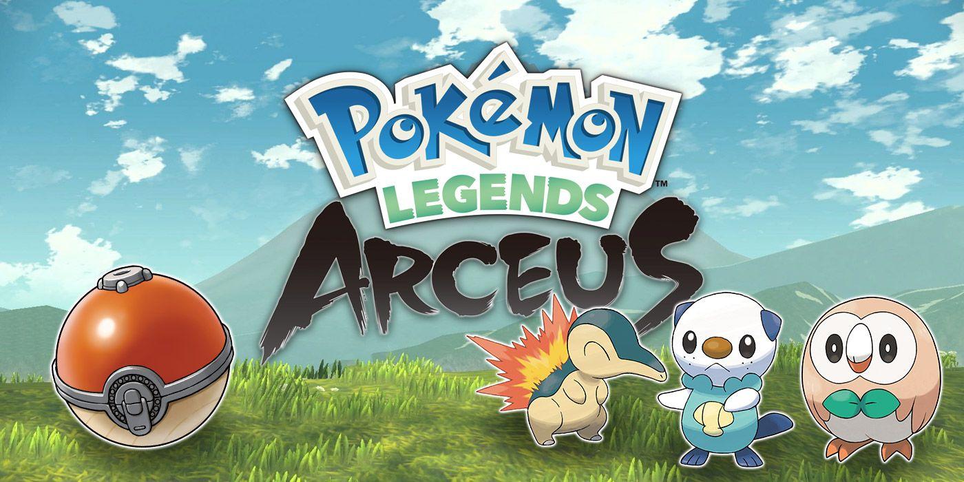 'Pokémon Legends: Arceus' Pokémon Inciantes Explicado 3