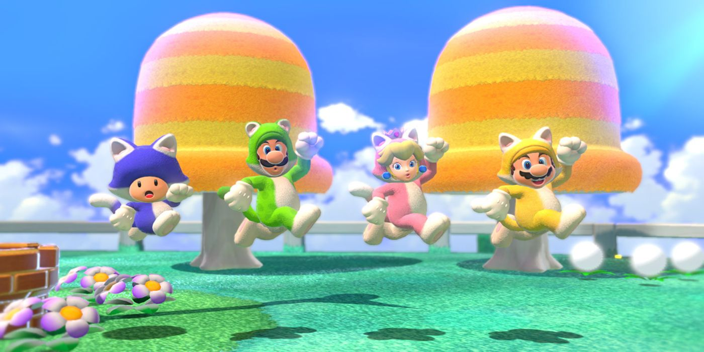 Super Mario 3D World + Bowser's Fury: Castle-7 Green Stars & Stamp