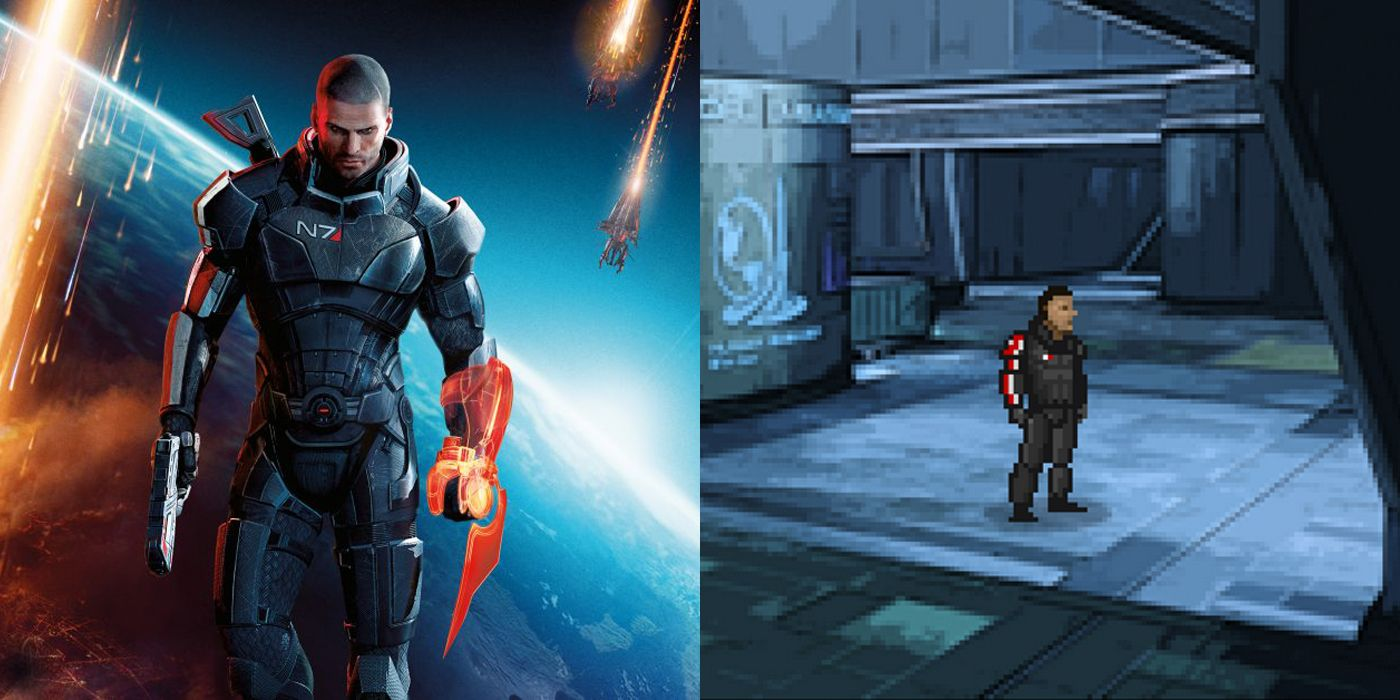 Mass Effect Fans Recreate Game as LucasArts Point and Click Adventure