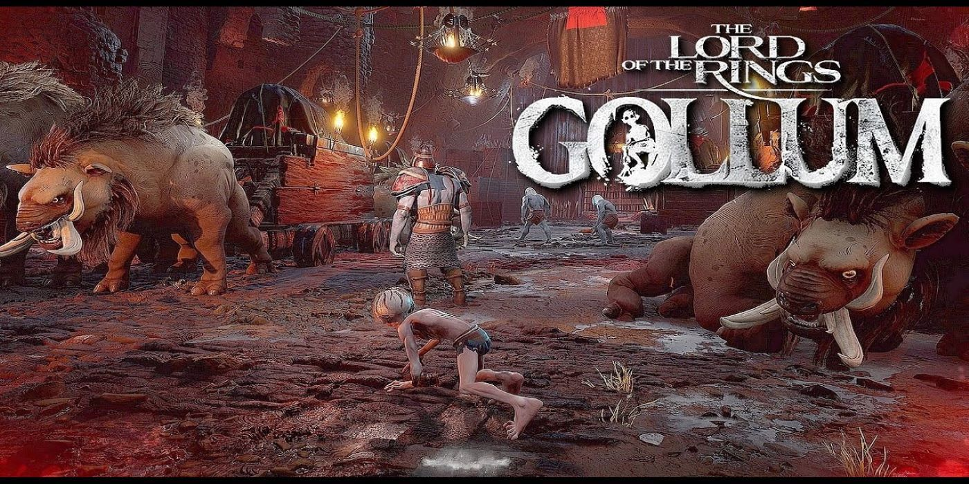 Lord of the Rings: Gollum Shows Off First Gameplay Footage