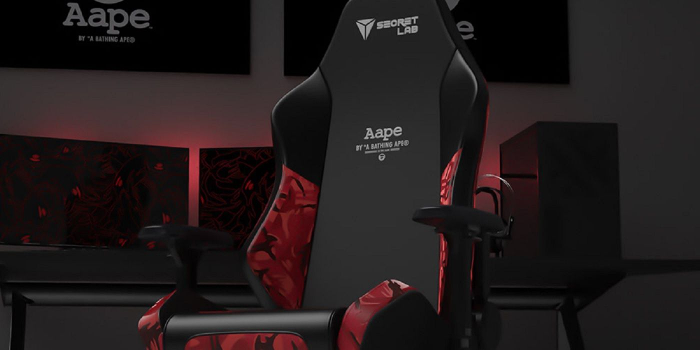 SecretLab AAPE Limited-Edition Designer Chair Review | Game Rant