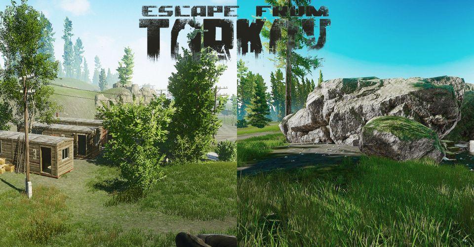 Tarkov Woods Map