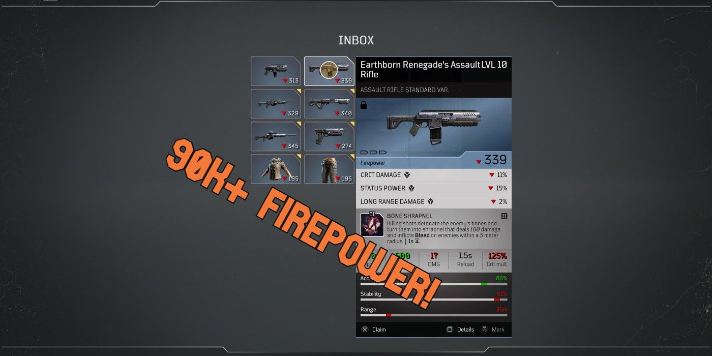 Outriders: How to Get an OP Assault Rifle   Game Rant