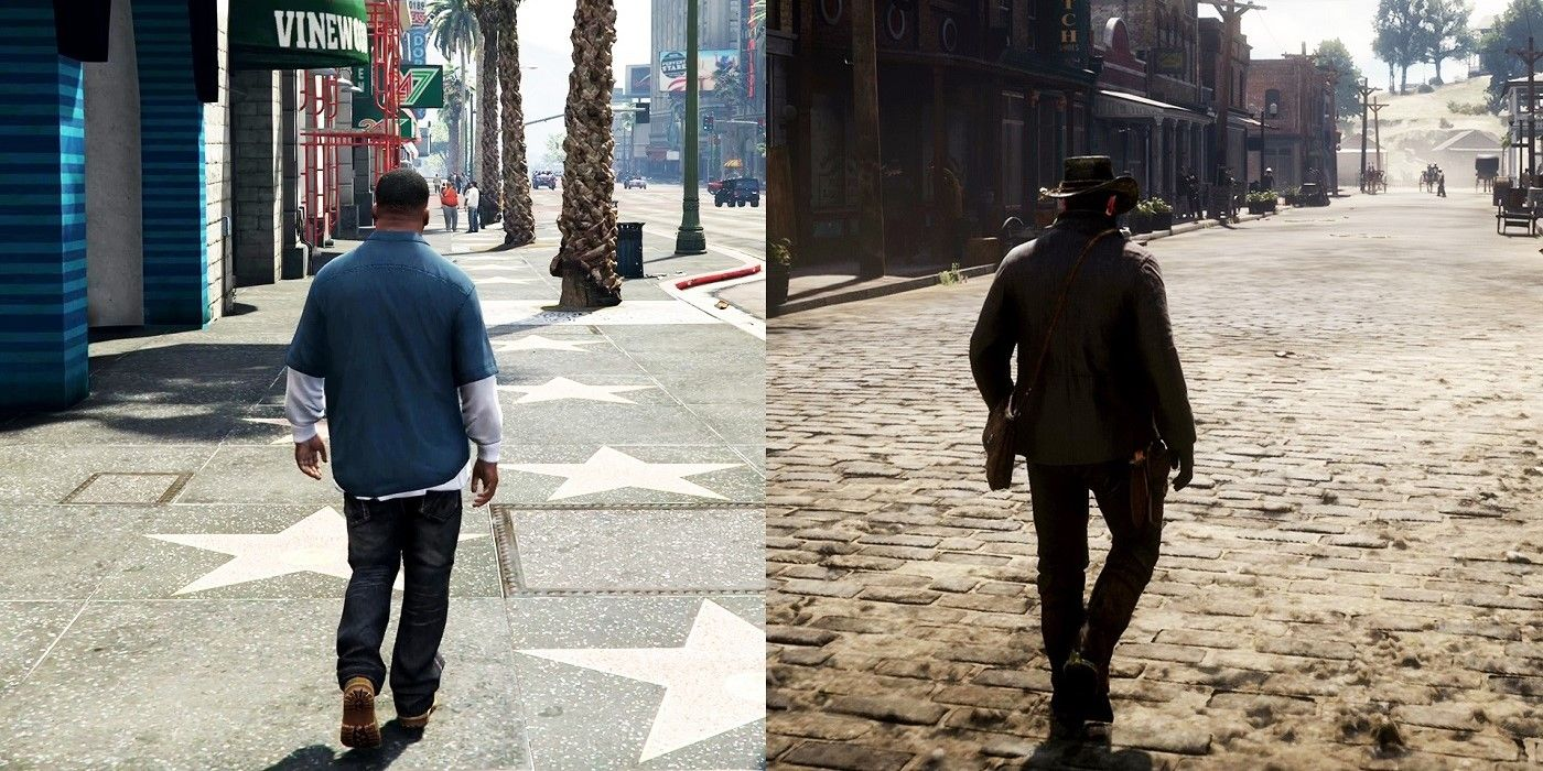 Red Dead Redemption 2 Uses Grand Theft Auto 5 Feature in Fan Video