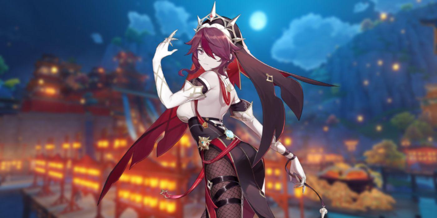 Genshin Impact: Best Rosaria Build | Game Rant