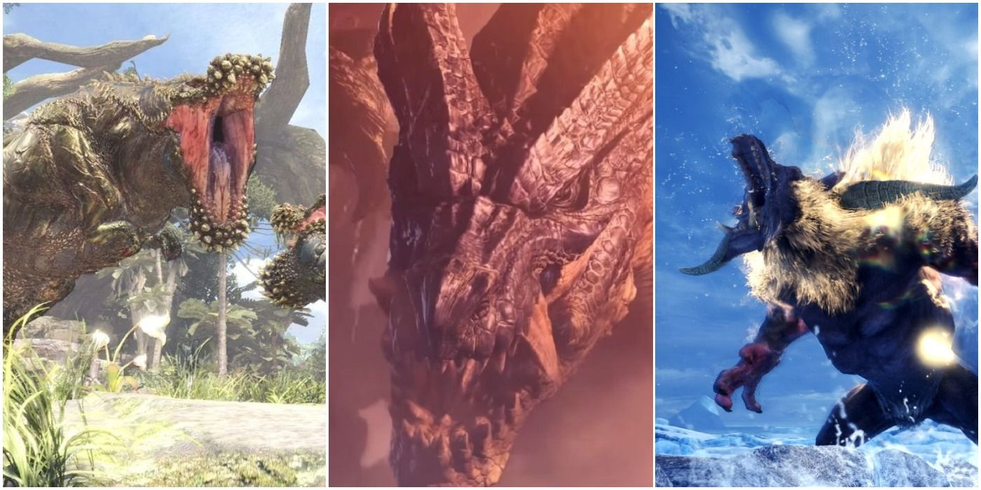 Monster Hunter: The 10 Most Fearsome Monsters In The Entire Series, Ranked
