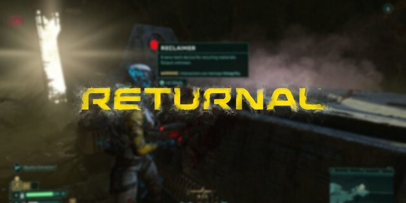 Returnal: What Does Reclaimer Do | Game Rant