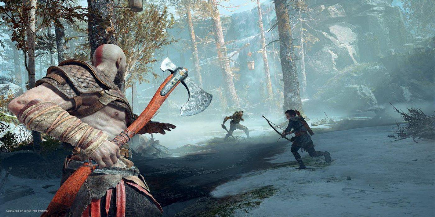 God of War Fan Creates Kratos Lightsaber | Game Rant