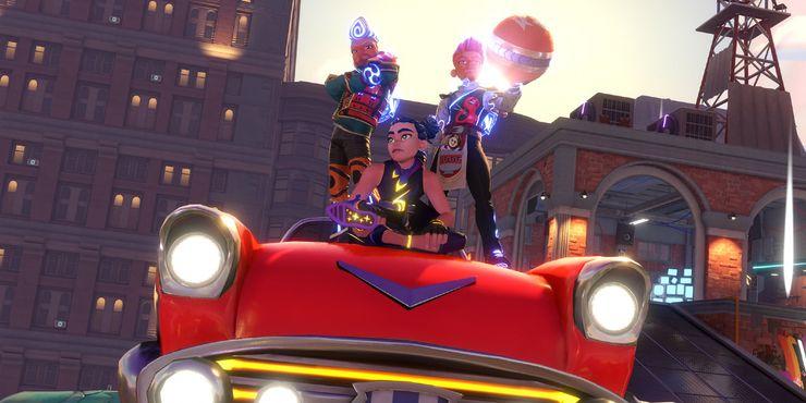 нокаутирующий городской автомобиль экипажа