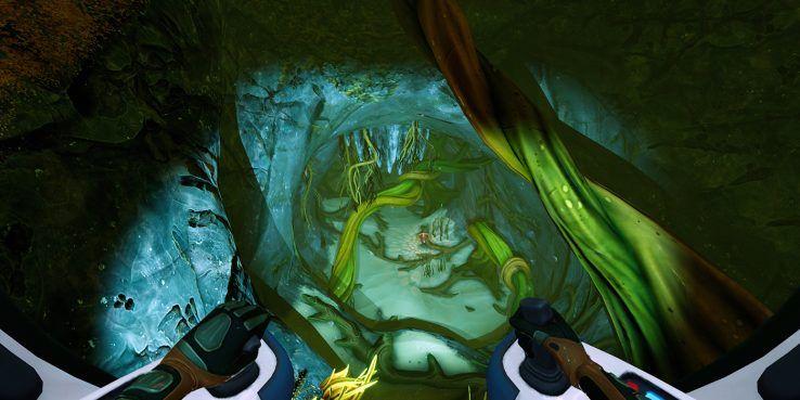 subnautica ниже нуля обзор пещера