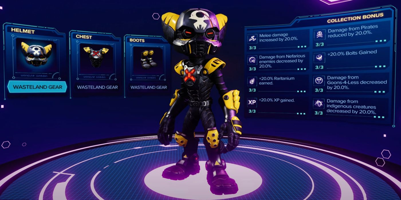 Ratchet and Clank: Rift Apart - All the Armor Revealed So Far