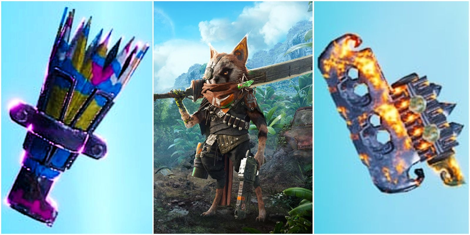 Biomutant – The Best One-Handed Slash Weapons In The Game