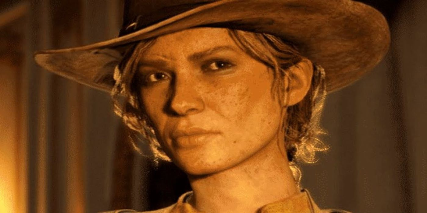 Hilarious Red Dead Redemption 2 Glitch Sends Sadie Flying
