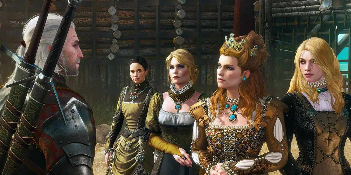 The Witcher 3 Mod Elicits Concern from Voice Actors | Game Rant