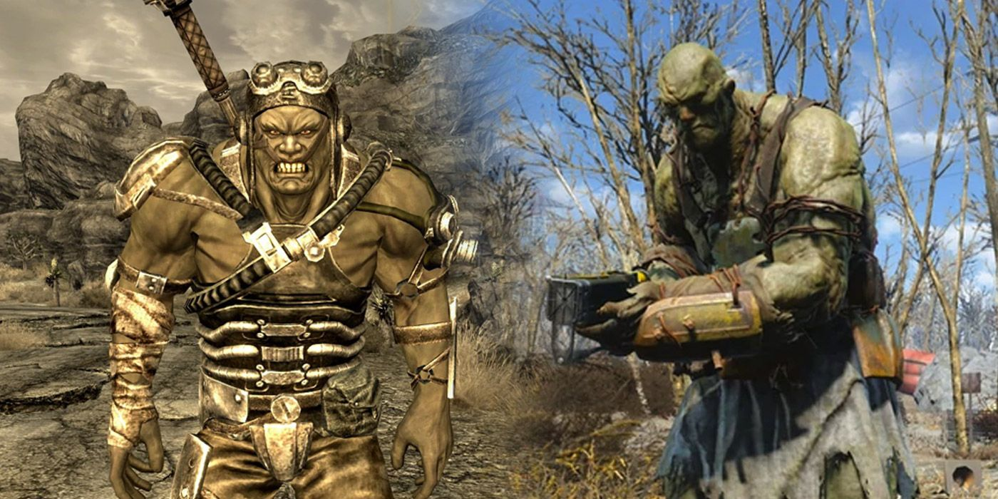 Fallout's Various Super Mutants Explained   Game Rant