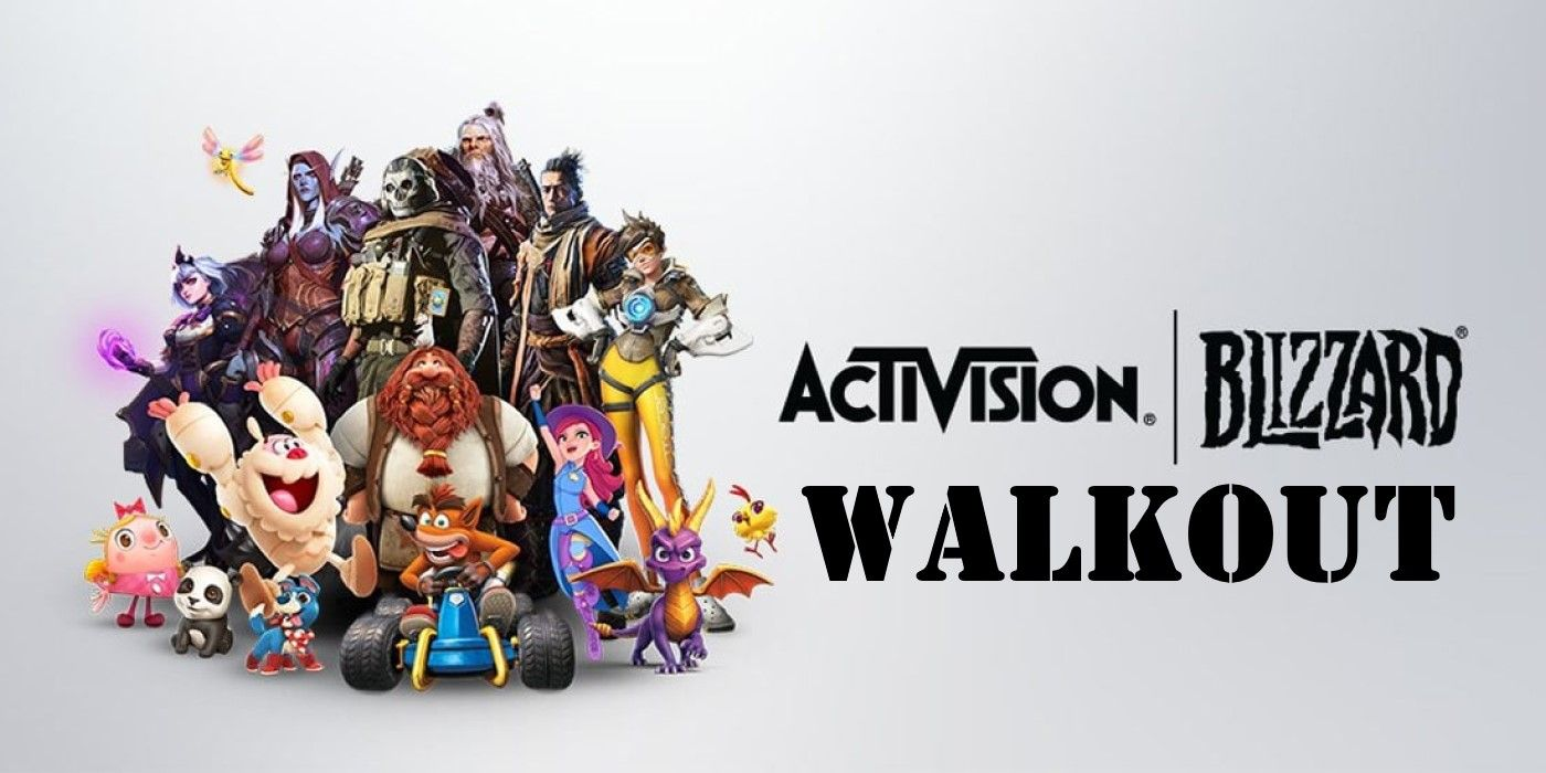 How to Support Activision Blizzard Employees During The Walkout