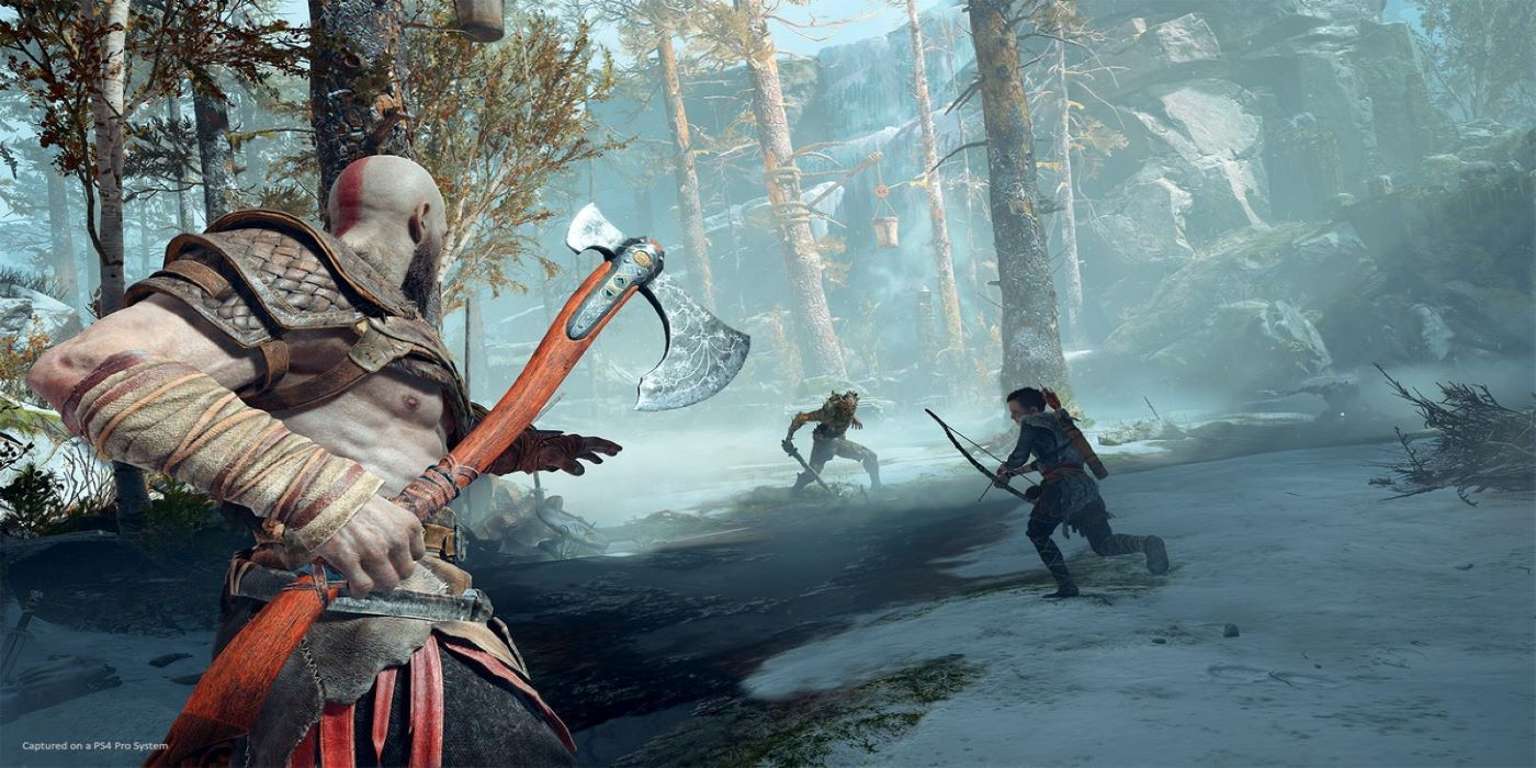God of War Fan Shows Off Kratos Costume Complete With Leviathan Axe