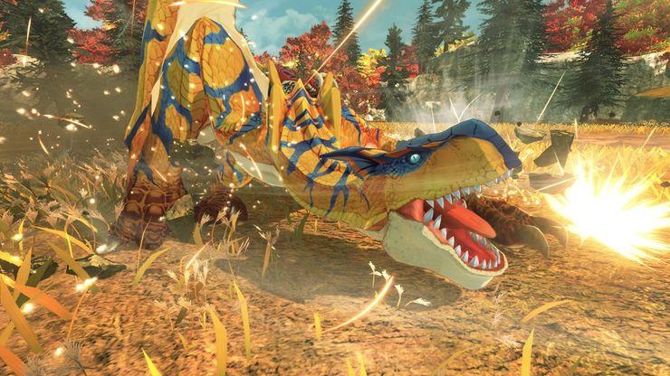 истории охотников на монстров 2 тигрекс