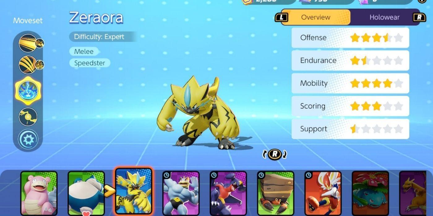 Pokemon Unite: How to Get Zeraora | Game Rant