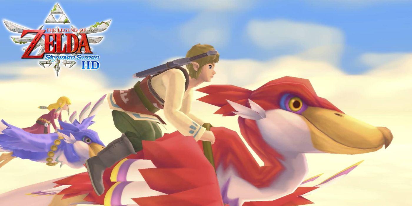The Legend of Zelda:Skyward Sword HD ,controles de botão irão beneficiar os loftwings 1